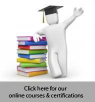 Click here for our online courses and certifications