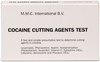 Cocaine Cutting Agents Test