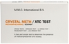 Crystal Meth / XTC Test